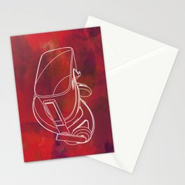Virtual reality mask Stationery Cards