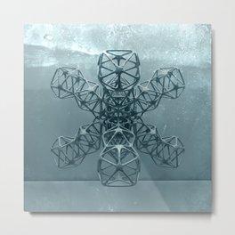 Kaos VIII Metal Print