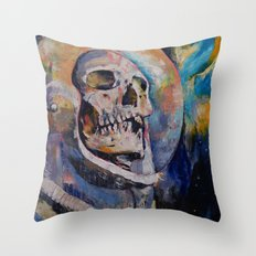 Stardust Astronaut Throw Pillow