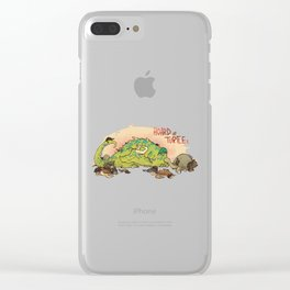 Hoard of turtles Clear iPhone Case
