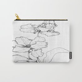 LonelyParrotTulips Carry-All Pouch