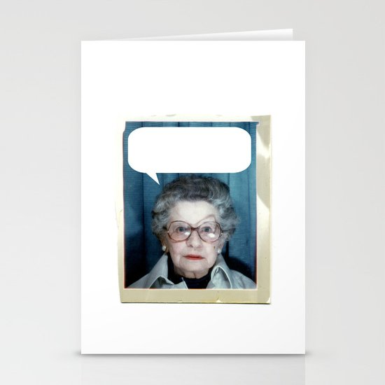 Grandmother Said... Stationery Cards