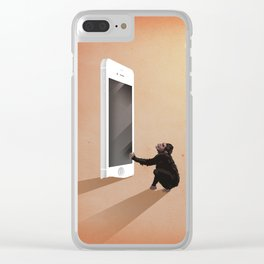 Smartphone revolution Clear iPhone Case