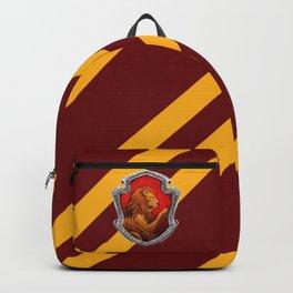 Gryffindor Hogwarts Stripes Backpack