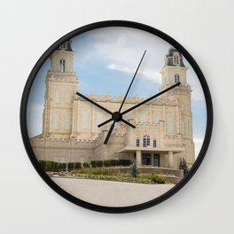 Manti Utah LDS Temple Wall Clock
