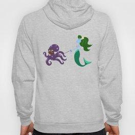 Mermaid and her Octopus Hoody