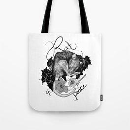 Rat in Peace Tote Bag