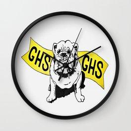 GHS Bulldogs Wall Clock
