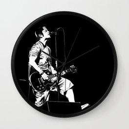 T. S. B/W Wall Clock