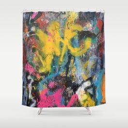 NYC GRAFFITI WALL Shower Curtain