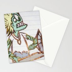 frog man Stationery Cards