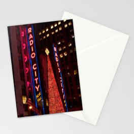 Christmas at Radio City Stationery Cards