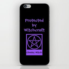 Protected By Witchcraft Pagan Wiccan Cover iPhone Skin