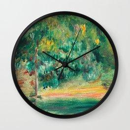 Pierre-Auguste Renoir - Paysage Wall Clock
