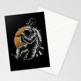Astronaut E-Guitar Stationery Cards