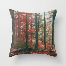into the woods 11 Throw Pillow