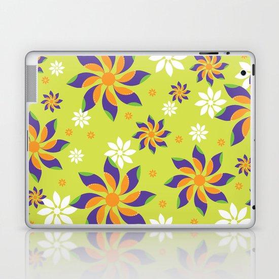 Flowerswirl Laptop & iPad Skin