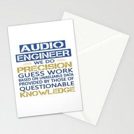 AUDIO ENGINEER Stationery Cards