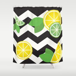 Simply the Zest Shower Curtain