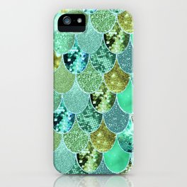 Mermaid Skin Shimmer iPhone Case