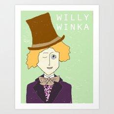 Willy Winka Art Print