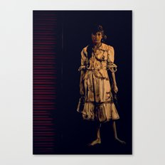 A girl from Madrid Canvas Print