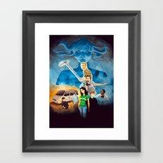 Deathwatch - blank Framed Art Print
