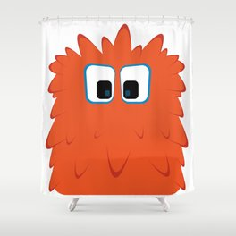 Bubble Beasts: Ferociously Fresh Foaming Paw Scrubber Shower Curtain