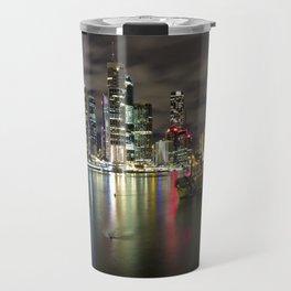 Brisbane by night Travel Mug