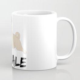 Exhale - Yoga Pug Coffee Mug