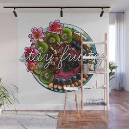 Stay Fruity Wall Mural