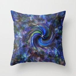 Dharma Hurricane Throw Pillow
