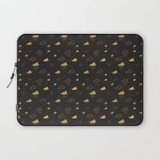 Golden Clouds Laptop Sleeve