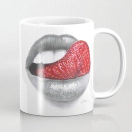 Strawberry Lips Coffee Mug