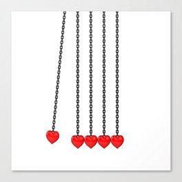 Perpetual Heart Canvas Print