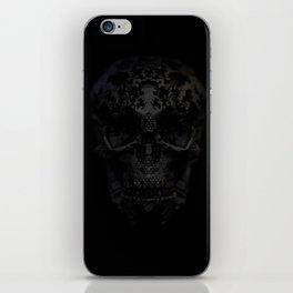 Skulls Black iPhone Skin