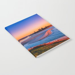Sunrise on The Entrance Channel Notebook
