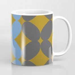Retro Petal Pattern Tri-color #decor #society6 #buyart Coffee Mug