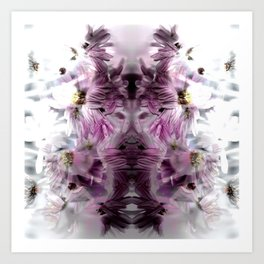 Enchanted floral Art Print