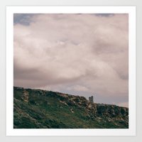 Malta Cloud Landscape_Square Art Print