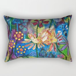 Peace, Love & Joy Rectangular Pillow