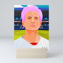 Megan Rapinoe Mini Art Print