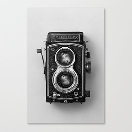 Rolliflex Camera Canvas Print