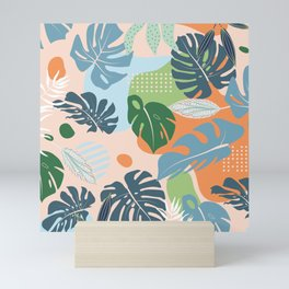 Graphic jungle drawing 202 Mini Art Print