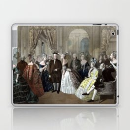 Franklin's Reception At The Court Of France Laptop & iPad Skin