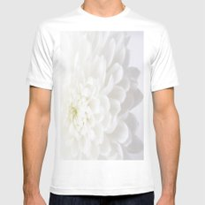 Mums White MEDIUM Mens Fitted Tee