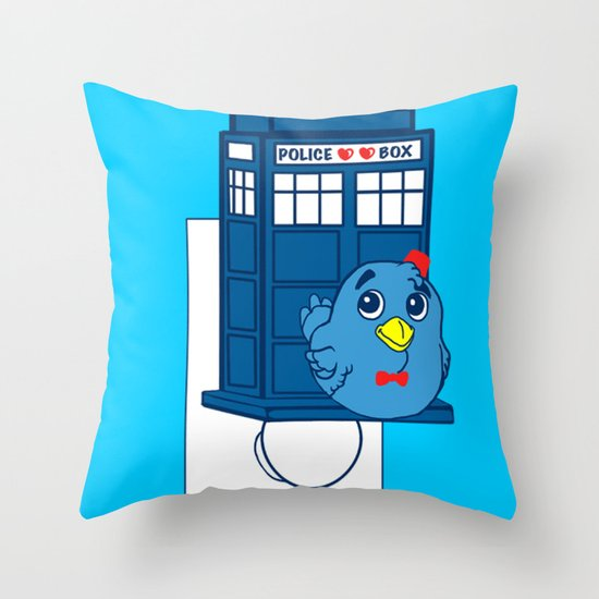 Who watches over you Throw Pillow