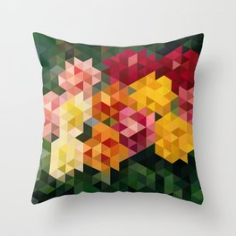 Chrysanthemums 1 Throw Pillow