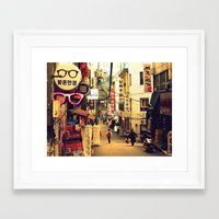 seoul Framed Art Prints featuring Seoul #1 by MysticJin