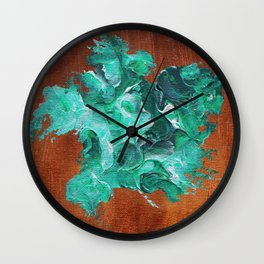 United States of Dollars and Cents. Wall Clock